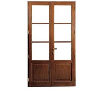 Finestra arte infissi 1958 toscana pistoia lamporecchio - Porta finestra in legno ...